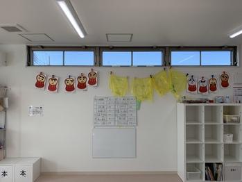 子ども達の正月イベント作品