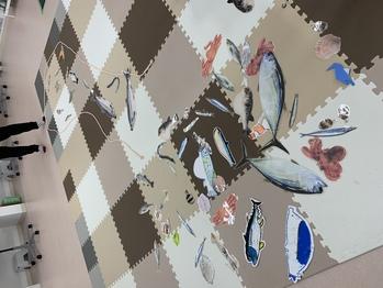 川魚・海魚とスタッフは色々な魚をつくってくれました。