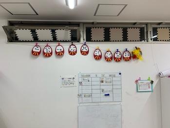 1月4日(月)福笑いで遊ぼうの子ども達の作品です。12日(火)からのお正月工作でどの様な作品が出来上がるのか楽しみです。